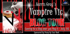 Vampire Vic, Blog tour