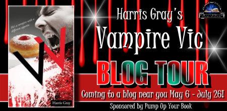 Vampire Vic, Blog tour